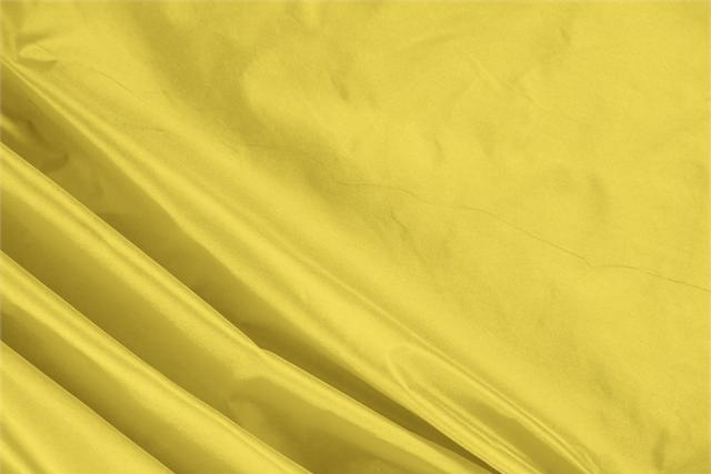 Buy online our clothing and fashion fabric 'Girasole' Yellow Silk Taffeta, Made in Italy. - new tess