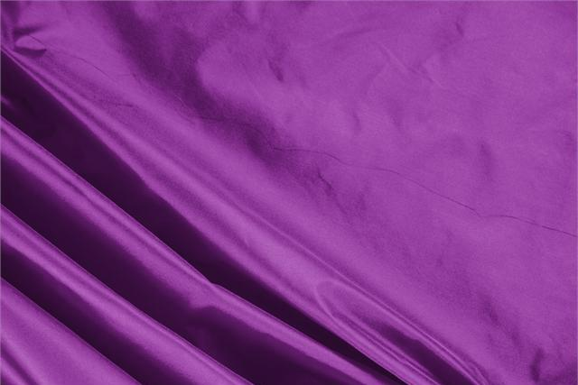 Buy online our clothing and fashion fabric 'Cardinale' Purple Silk Taffeta, Made in Italy. - new tess