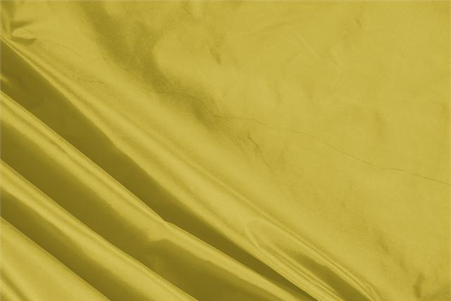 Buy online our clothing and fashion fabric 'Gold' Yellow Silk Taffeta, Made in Italy. - new tess