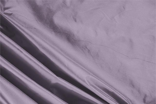 Buy online our clothing and fashion fabric 'Glicine' Purple Silk Taffeta, Made in Italy. - new tess