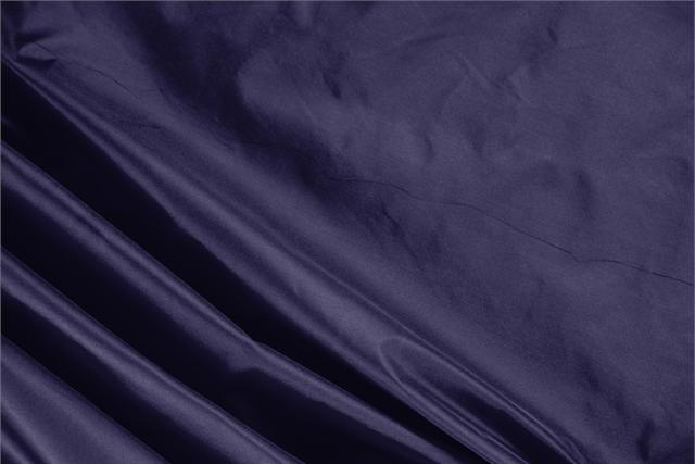 Buy online our clothing and fashion fabric 'Notte' Blue Silk Taffeta, Made in Italy. - new tess