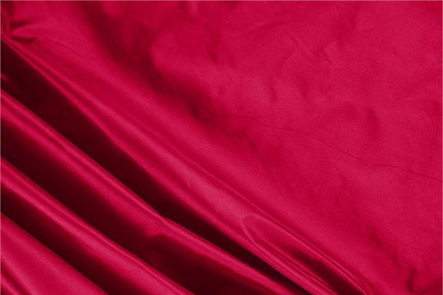 Buy online our clothing and fashion fabric 'Rubino' Red Silk Taffeta, Made in Italy. - new tess