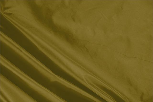 Buy online our clothing and fashion fabric 'Olio' Green Silk Taffeta, Made in Italy. - new tess