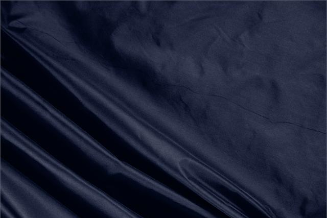 Buy online our clothing and fashion fabric 'Inchiostro' Blue Silk Taffeta, Made in Italy. - new tess