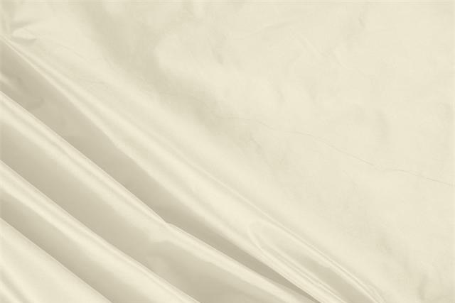 Buy online our clothing and fashion fabric 'Vaniglia' White Silk Taffeta, Made in Italy. - new tess