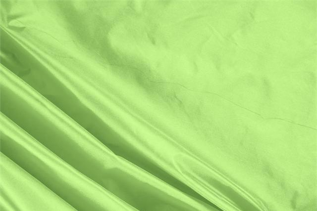 Buy online our clothing and fashion fabric 'Lime' Green Silk Taffeta, Made in Italy. - new tess