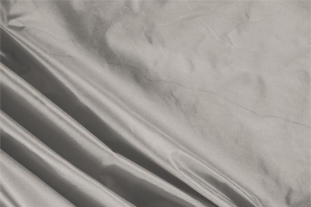 Buy online our clothing and fashion fabric 'Sasso' Gray Silk Taffeta, Made in Italy. - new tess