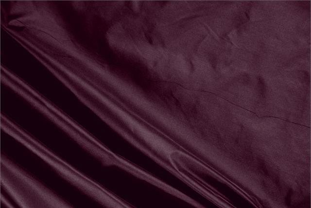 Buy online our clothing and fashion fabric 'Melanzana' Purple Silk Taffeta, Made in Italy. - new tess