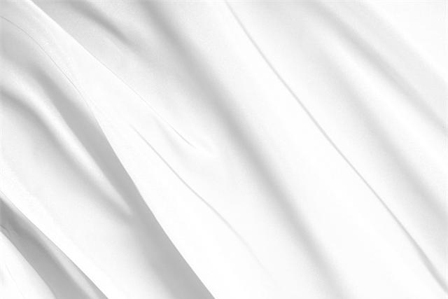 Buy online our clothing and fashion fabric 'Bianco' White Silk Radzemire, Made in Italy. - new tess
