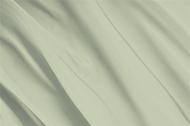 Buy online our clothing and fashion fabric 'Opale' Green Silk Radzemire, Made in Italy. - new tess