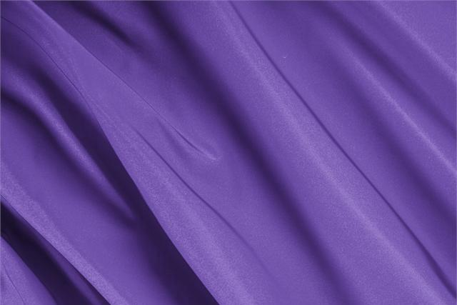 Buy online our clothing and fashion fabric 'Iris' Purple Silk Radzemire, Made in Italy. - new tess